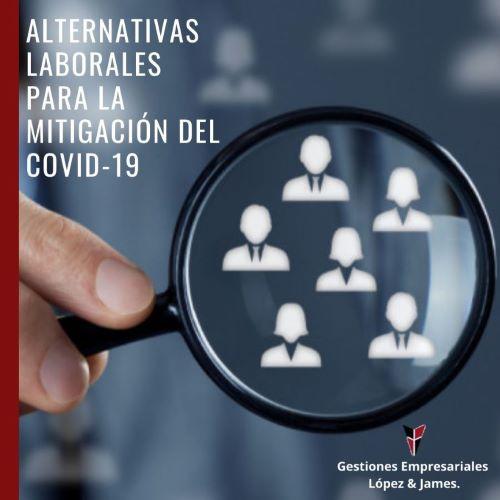 """""""ALTERNATIVAS LABORALES PARA MITIGAR LAS CONSECUENCIAS DEL COVID – 19 EN SU EMPRESA"""" POR: Guillermo Sánchez"""
